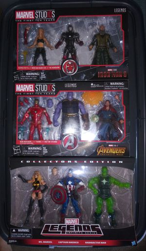 Marvel Legends 3 Packs for Sale in San Diego, CA
