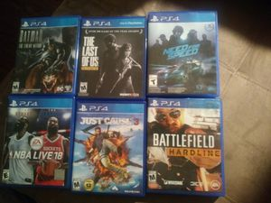 PS4 GAMES for Sale in Knoxville, TN