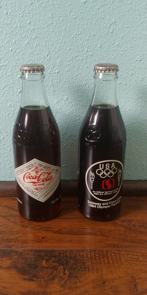 1984 Coca Cola Safeway Sponsor Cokes for Sale in Wenatchee, WA