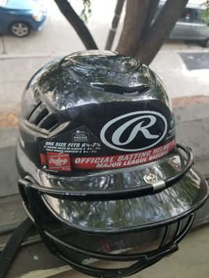 Baseball helmet with face Guard for Sale in Boston, MA