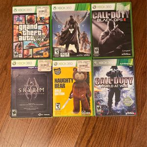 Xbox 360 Games for Sale in Beckley, WV