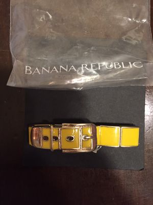 25 new packaged Banana Republic Special Link Bracelets maroon $30 for Sale in New York, NY