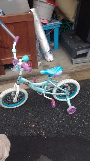 HUFFY DISNEY FROZEN 16IN GIRLS BIKE for Sale in Chesapeake, VA