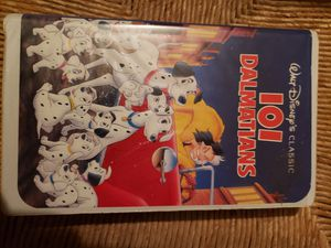 VHS - 101 Dalmatians for Sale in Milwaukee, WI