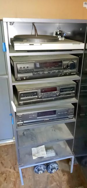 Technic technics home stereo system turntable tape deck tuner for Sale in Victorville, CA