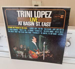 TRINI LOPEZ RECORD for Sale in Modesto, CA