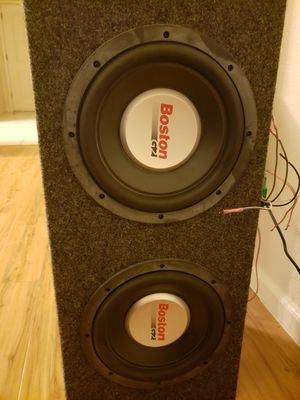 "2 10"" subwoofers for Sale in Fresno, CA"