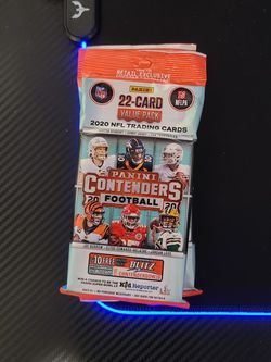 2020 Panini Contenders Football Cello Value Pack for Sale in Chicago,  IL