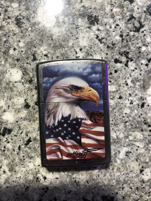 Zippo American Flag Bald Eagle Lighter for Sale in Summerville, SC