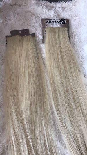 613 / blonde synthetic extensions for Sale in Fontana, CA