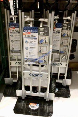 $80 each NEW aluminum heavy duty hand truck lay flat dolly 1000lb capacity utility cart flat free tires for Sale in Rosemead, CA
