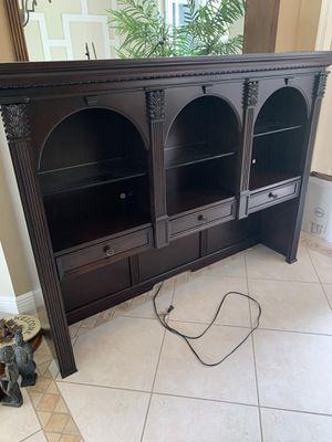 Wood Desk Hutch for Sale in Cooper City, FL