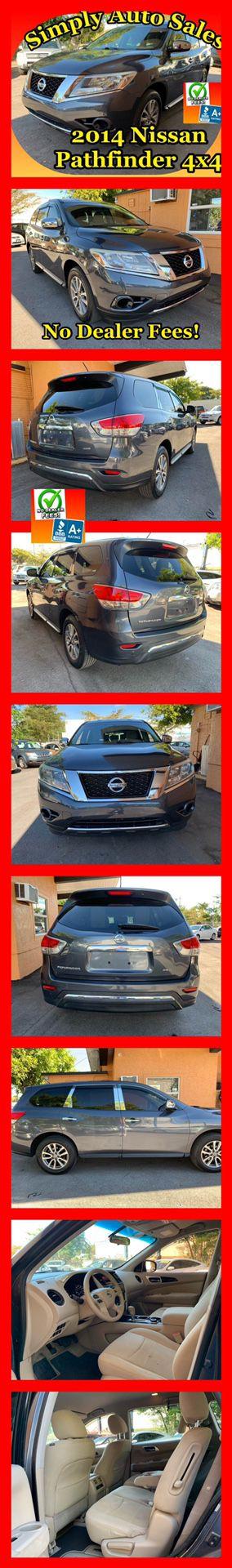 2014 Nissan Pathfinder 4x4 for Sale in Palm Beach Gardens, FL