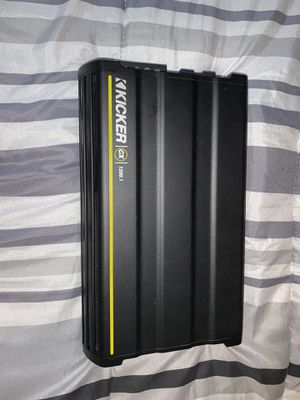 Kicker cx 1200 amp for Sale in Hammonton, NJ
