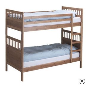 IKEA Hemnes Twin Bunk Bed With 2 Sultan Twin Size Mattress for Sale in San Jose, CA