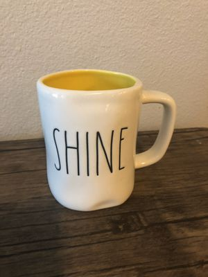 Rae Dunn Shine Mug with Yellow Inside for Sale in Puyallup, WA