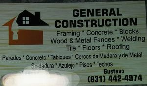 Estimaciones gratis trabajaos garantisados for Sale in Salinas, CA