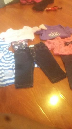 bundle clothes size 6/9 months for Sale in Philadelphia, PA