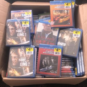 100+ Blue-ray DVDs (Brand new) for Sale in Columbus, OH
