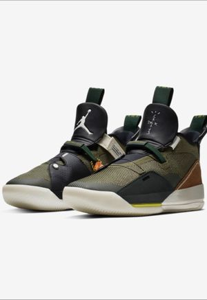 Travis Scott Jordan 33 size 9.5 men's new with box for Sale in West Chicago, IL
