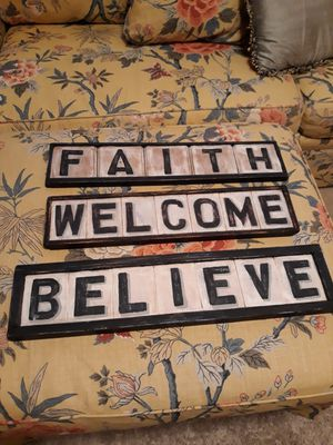 Home decor (signs) for Sale in Baltimore, MD