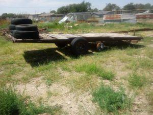 Trailer- tilt deck equipment for Sale in Amarillo, TX