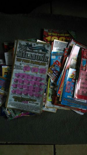 NC LOTTERY TICKET LOT SCRATCHED for Sale in Morganton, NC