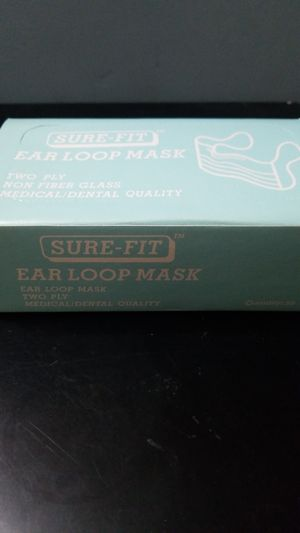 Sure-fit Earloop Medical Face mask 2ply for Sale in Rosemead, CA