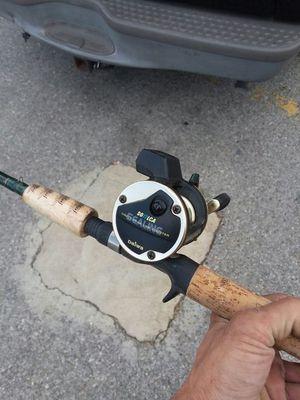 Bait caster Fenwick fishing pole with daiwa sealing reel. for Sale in Nashville, TN