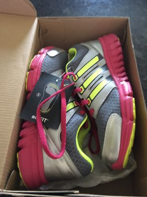 Girls' Adidas running shoes, youth size 2 for Sale in Suffolk, VA