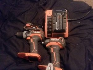 GEN5X™ Brushless 18V Compact Hammer Drill/Driver and Impact Combo for Sale in Canton, TX