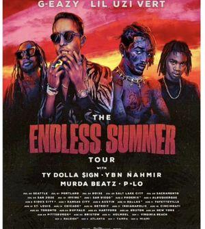 2 G eazy tickets (lawn GA) 7/20 for Sale in Edmonds, WA