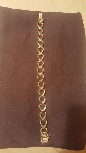 18k solid gold vintage bracelet for Sale in Hobart, IN