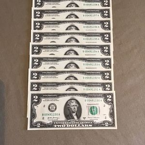 2017 Two Dollar Bills B Brand for Sale in Porterville, CA