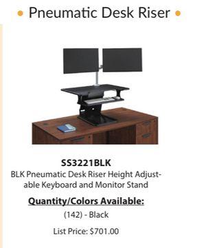 Pneumatic desk riser for Sale in Atlanta, GA