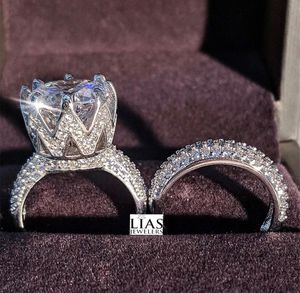 New 18 k white gold wedding ring set for Sale in Orlando, FL