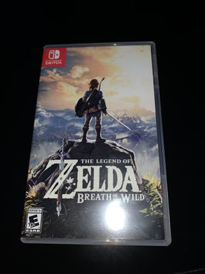 Legend Of Zelda ( Nintendo Switch ) for Sale in Zebulon, NC
