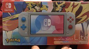 Nintendo Switch Lite Zacian & Zamazenta Limited Edition for Sale in Lansdowne, PA