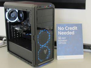 Computer PC Gaming Desktop AMD Ryzen 5 1600 3.6GHz 8GB RAM 240GB SSD AMD RX 560 Graphics ( FINANCING + WARRANTY ) for Sale in Fontana, CA