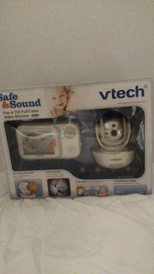 Safe and sound Vtech baby monitor