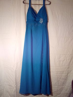 REDUCED PRICE!! Teal Prom Dress for Sale in LRAFB, AR