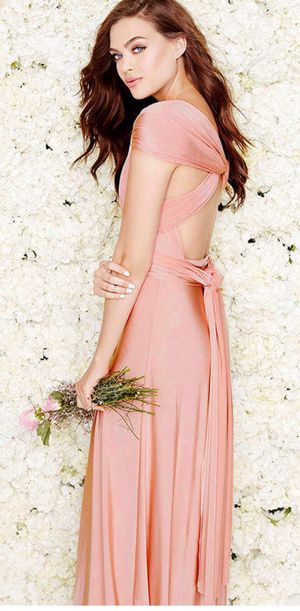 Lulu's Stunning Convertible Maxi dress Blush Pink for Sale in Bell Gardens, CA
