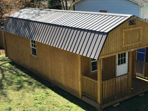 12x32 lofted barn storage/portable shed building tiny house for Sale in Douglasville, GA