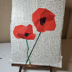 Poppy Collage for Sale in East Peoria, IL