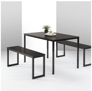 Modern Dining Table for 4 - Two benches/3 piece set for Sale in Washington, DC