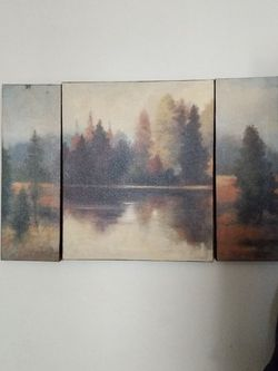 Hand Painted Canvas. Painted My Artist Haist for Sale in Mount Clare,  WV