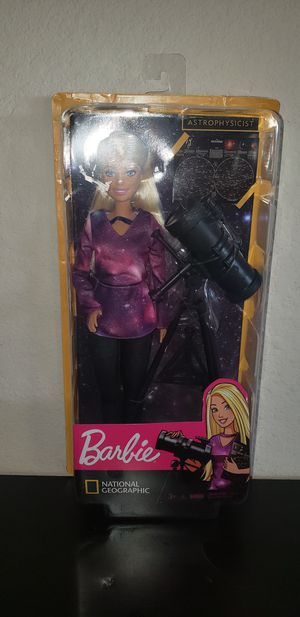 National geographic astrophysics Barbie for Sale in Aurora, CO