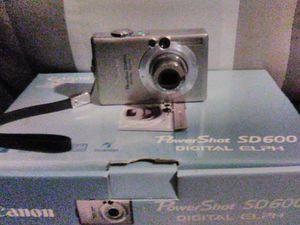 Cannon Power Shot SD600 Digital camera for Sale in Dallas, TX