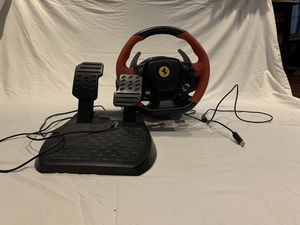 Ferrari 458 thrustmaster for Xbox one for Sale in Queens, NY