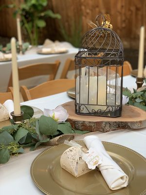 Decorative metal bird cage for Sale in Fresno, CA